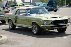 Shelby gt 500 kr 1968 Arkivbild
