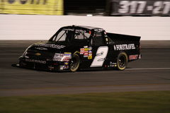 Shelby Howard NASCAR Truck Series Exit 2 ORP Night Stock Photo