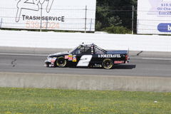Shelby Howard Qualifying NASCAR Truck Series ORP Stock Photos