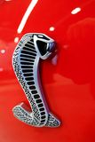 Shelby Mustang. Close-up of a Ford Shelby GT 500 Mustang emblem Royalty Free Stock Photography