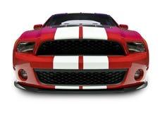 Shelby Mustang-Frontseite lizenzfreies stockbild