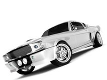 Shelby Mustang GT500 Stock Photography