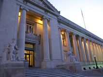 Shelby okręgu administracyjnego gmach sądu, Memphis, TN zdjęcie royalty free