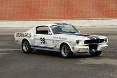 Shelby Racer Stock Photo