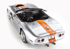 Shelby Series One. 1999 sports car. convertible. isolated Royalty Free Stock Photos
