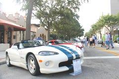 Shelby Viper Car Fotografía de archivo libre de regalías