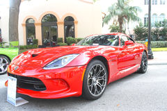 Shelby Viper Car-2013 lizenzfreies stockfoto