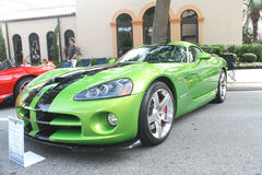 Shelby Viper Car Fotografía de archivo