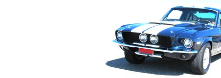 Shelby Web Banner royalty free stock photos