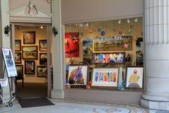 Sheldon Fine Art Studio, Broadway, Saratoga Springs, Nueva York, el 29 de agosto de 2015 Fotografía de archivo libre de regalías