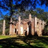 Sheldon kościół ruiny Zdjęcia Stock