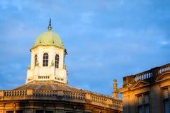 Sheldonian剧院塔,牛津 免版税库存照片