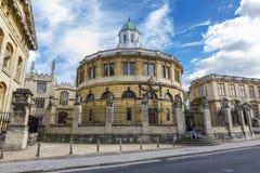 Sheldonian剧院,牛津,英国 库存图片