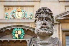 Sheldonian statuy england Oxford Obraz Royalty Free