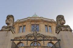 Sheldonian teater Oxford, England Arkivbild