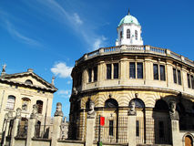 Sheldonian Theatre. The Sheldonian Theatre in the city of Oxford, Oxfordshire, England, UK was designed by Sir Christopher Wren and built between 1664-8 and is Stock Photography