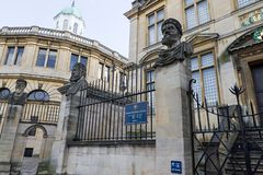 Sheldonian Theatre Oxford Royalty Free Stock Images