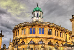 Sheldonian Theatre in Oxford - England Royalty Free Stock Photo