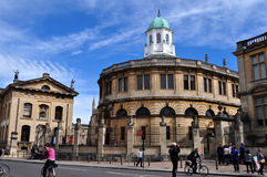 Sheldonian Theatre Royalty Free Stock Photos