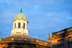 Sheldonian theatre tower, Oxford Royalty Free Stock Photo