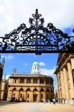 Sheldoniantheater, Oxford stock afbeelding