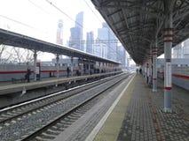 Shelepikha-Metrostation Stockfotografie