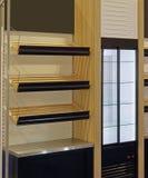 Shelf in Bakery stock photo