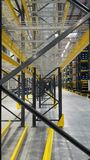 The shelf being ready for storaging material in the plant China Royalty Free Stock Images