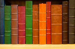 Shelf of Books royalty free stock photography