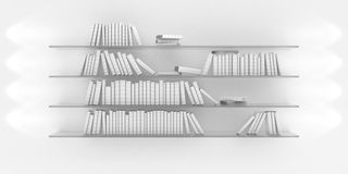 Shelf with books Royalty Free Stock Image