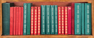Shelf of books Royalty Free Stock Photography