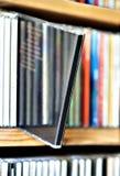 CD on shelf Stock Photo