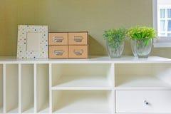 Shelf decoration Royalty Free Stock Photo