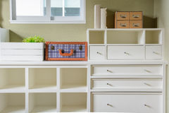 Shelf and drawer Royalty Free Stock Photography