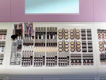 Shelf makeup Stock Photo