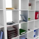 Shelf for office Stock Image