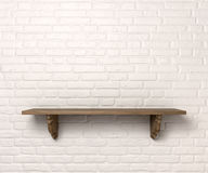 Free Shelf On A Wall Front Stock Photography - 28151712