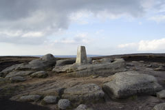 Shelf Stones Trig Point 2 Stock Image