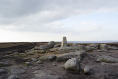Shelf Stones Trig Point 1 Royalty Free Stock Photo