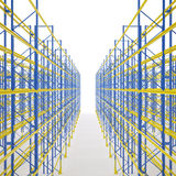 Shelf storage Royalty Free Stock Image