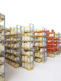 Shelf storage Stock Photo