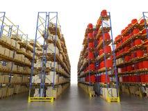 Shelf storage Royalty Free Stock Photography