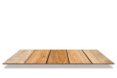 Shelf storage wood exquisite, isolated on white background. Stock Photography
