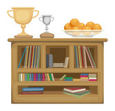 Shelf unit Stock Photo