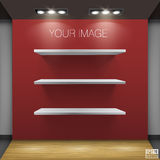 Shelf Vector Illustration Stock Images