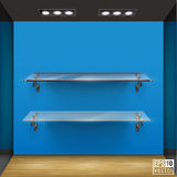 Shelf Vector Illustration Stock Image