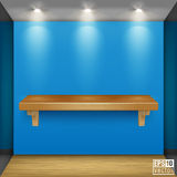 Shelf Vector Illustration Royalty Free Stock Images