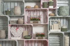 Shelf wall Royalty Free Stock Image