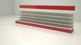 Shelfs Cam1 lungo di pubblicità Fotografia Stock Libera da Diritti