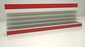 Shelfs Cam2 lungo di pubblicità Fotografia Stock Libera da Diritti